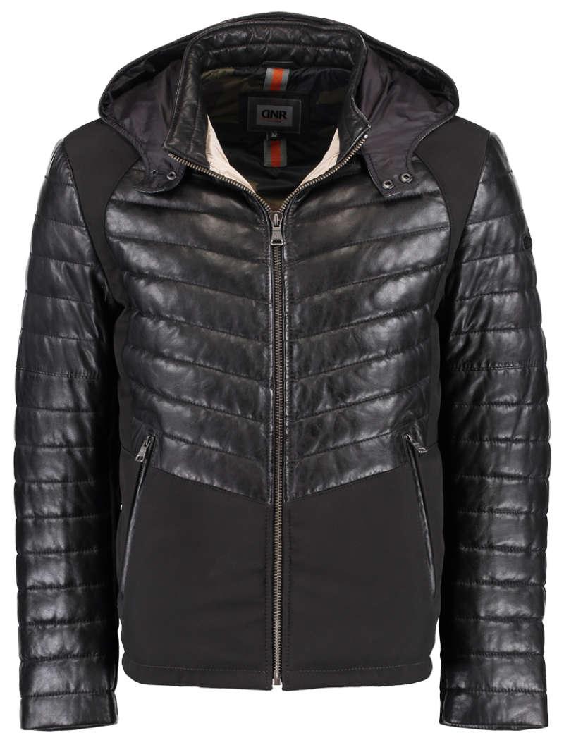 designer fashion b4f8d 31e07 Leder Winterjacke von der Marke DNR